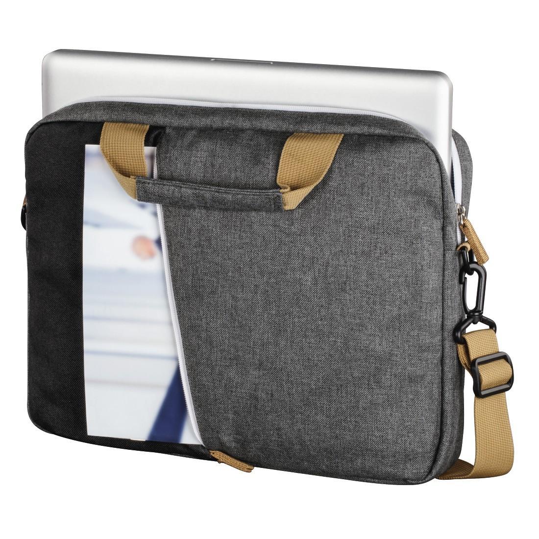 "Чанта за лаптоп HAMA Florence, до 40 см (15.6""), Черен/Сив"