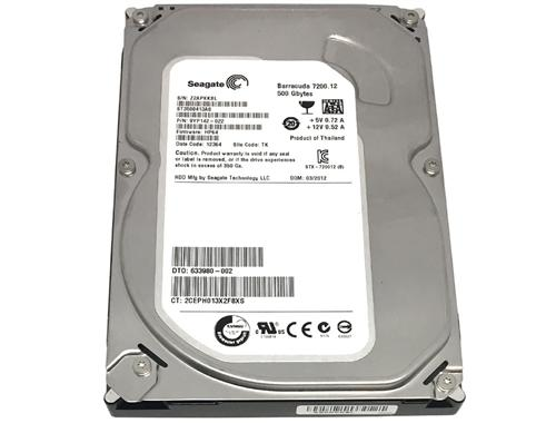 Хард диск SEAGATE BarraCuda, 500GB, 16MB, 7200 rpm, SATA 3, ST3500413AS