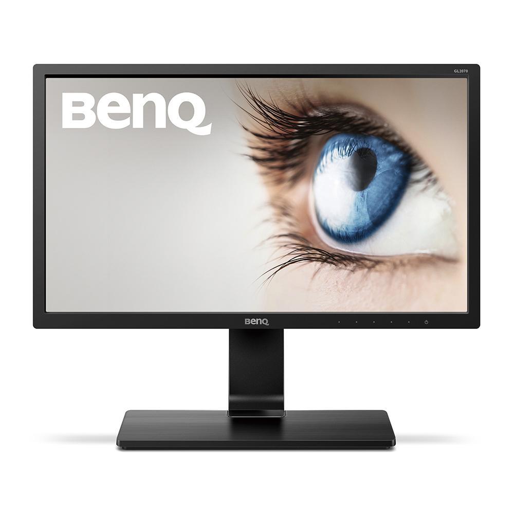 Монитор BenQ GL2070, TN, 19.5 inch, Wide, HD+, D-sub, DVI, Черен