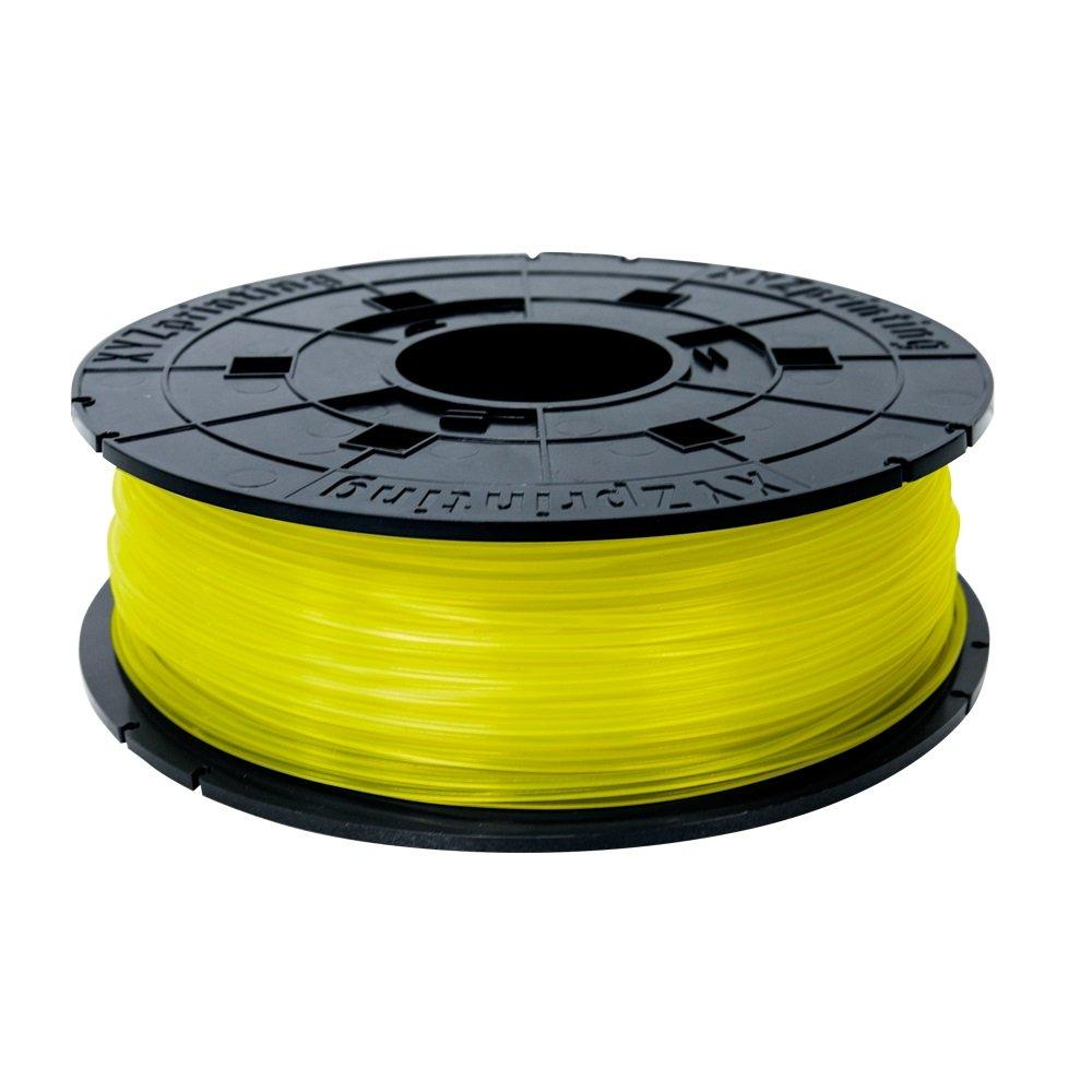 Консуматив за 3D принтер XYZ printing RFPLBXEU03B, PLA Filament, 1.75 mm, 600, Clear Yellow