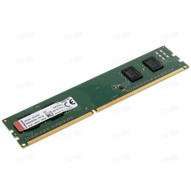 Памет Kingston 2GB DDR3 PC3-10600 1333MHz CL9 KVR13N9S6/2