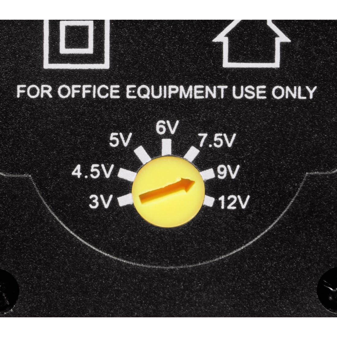 Адаптер HAMA 46617,  AC/DC Eco 600mAh 3-12 V