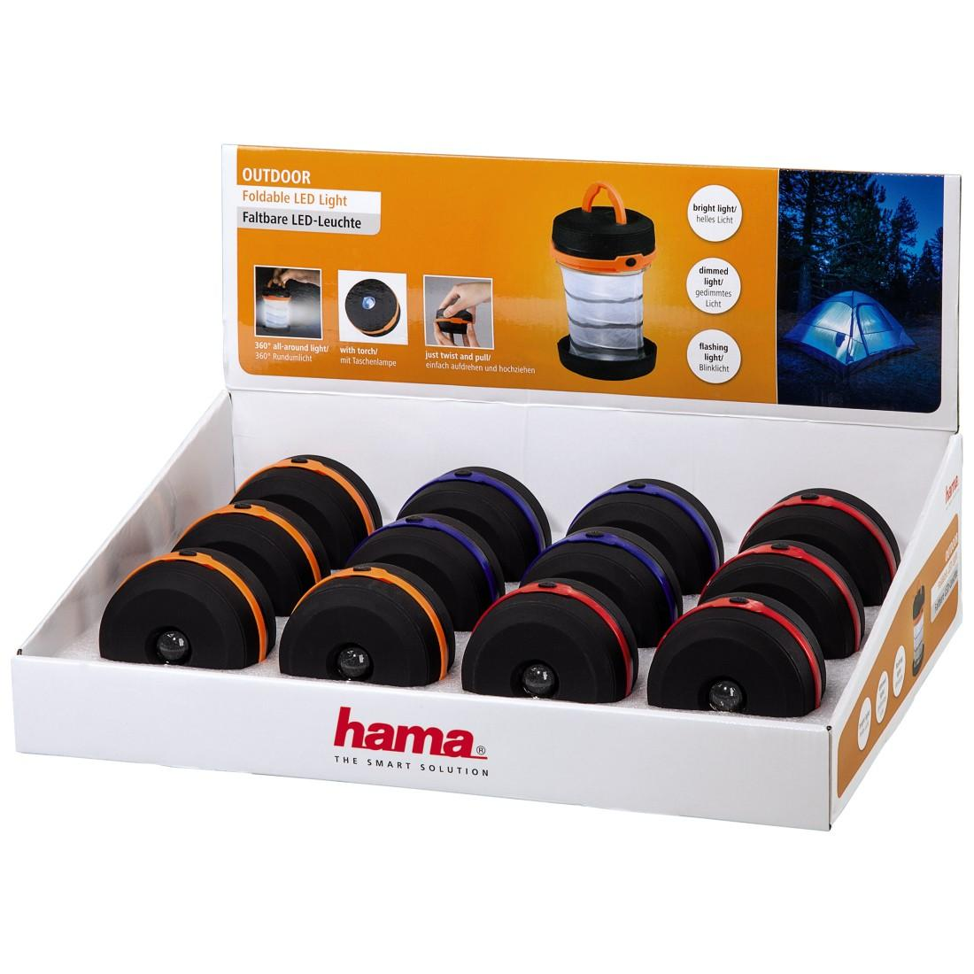 "Фенер HAMA ""Outdoor"" LED Light, 12 броя в кутия"