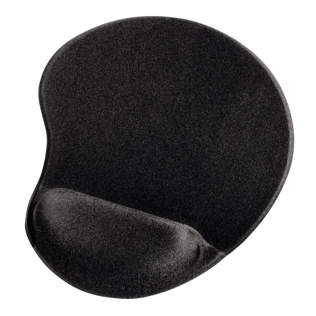 Пад за мишка HAMA Ergonomic 54779, Текстил, Черен
