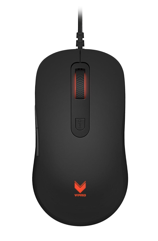 Геймърска мишка Rapoo, VPRO V16, Оптична, Жична, USB, Black