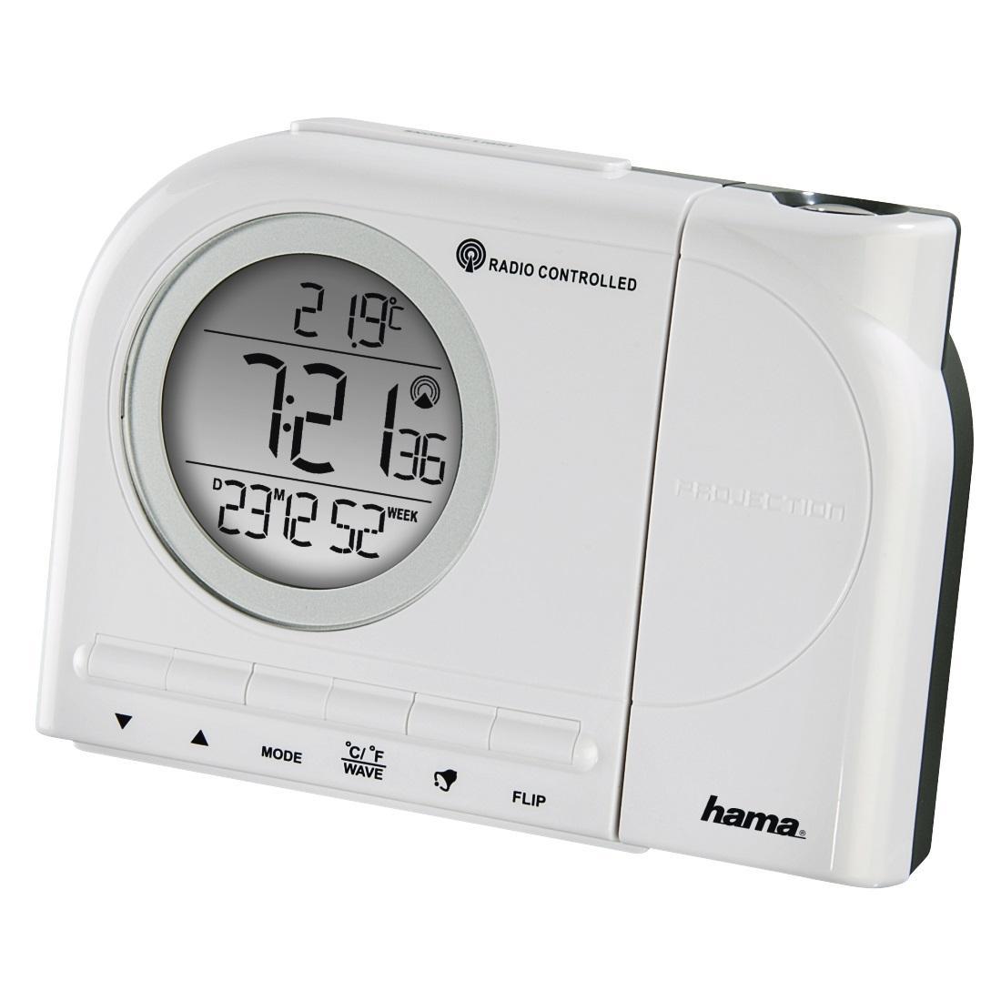 Радио часовник HAMA RCR 110, DCF, Черен