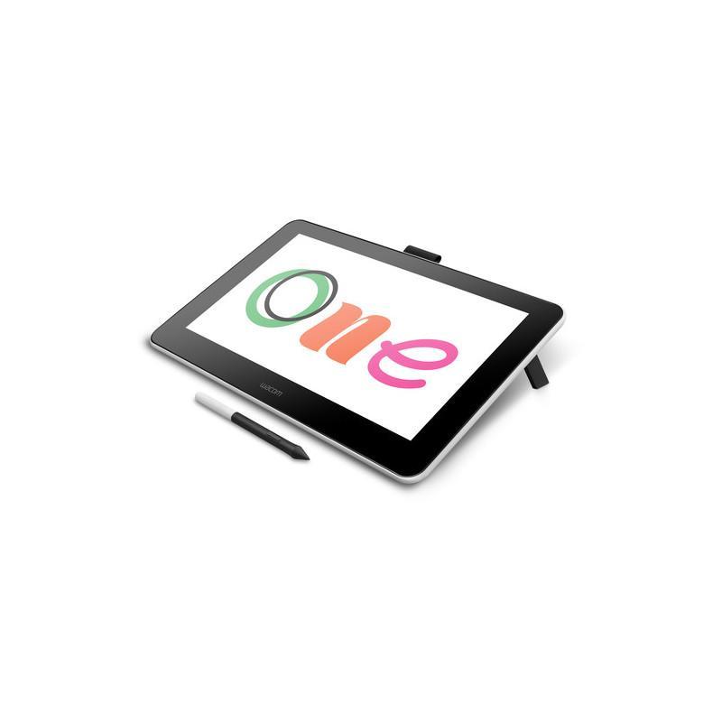 """Графичен таблет Wacom One 13 pen display, 13.3""""  Full HD 1920 х 1080, Черен"""