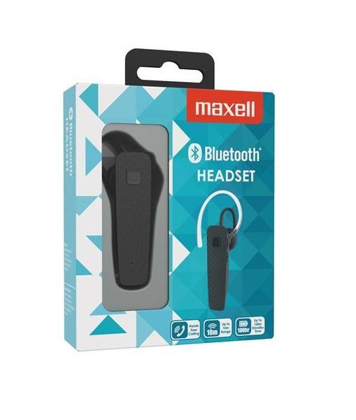 Блутут слушалка MAXELL MXH-HS02, хендсфри, Черен