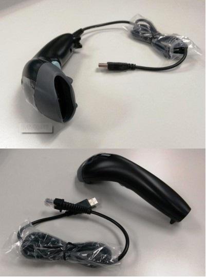 Баркод скенер BIRCH BZ-H15BU, Лазерен, USB, Черен