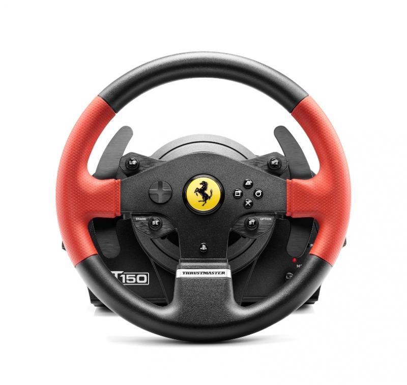 Волан THRUSTMASTER, T150 Ferrari Wheel Force Feedback, за PC / PS3 / PS4