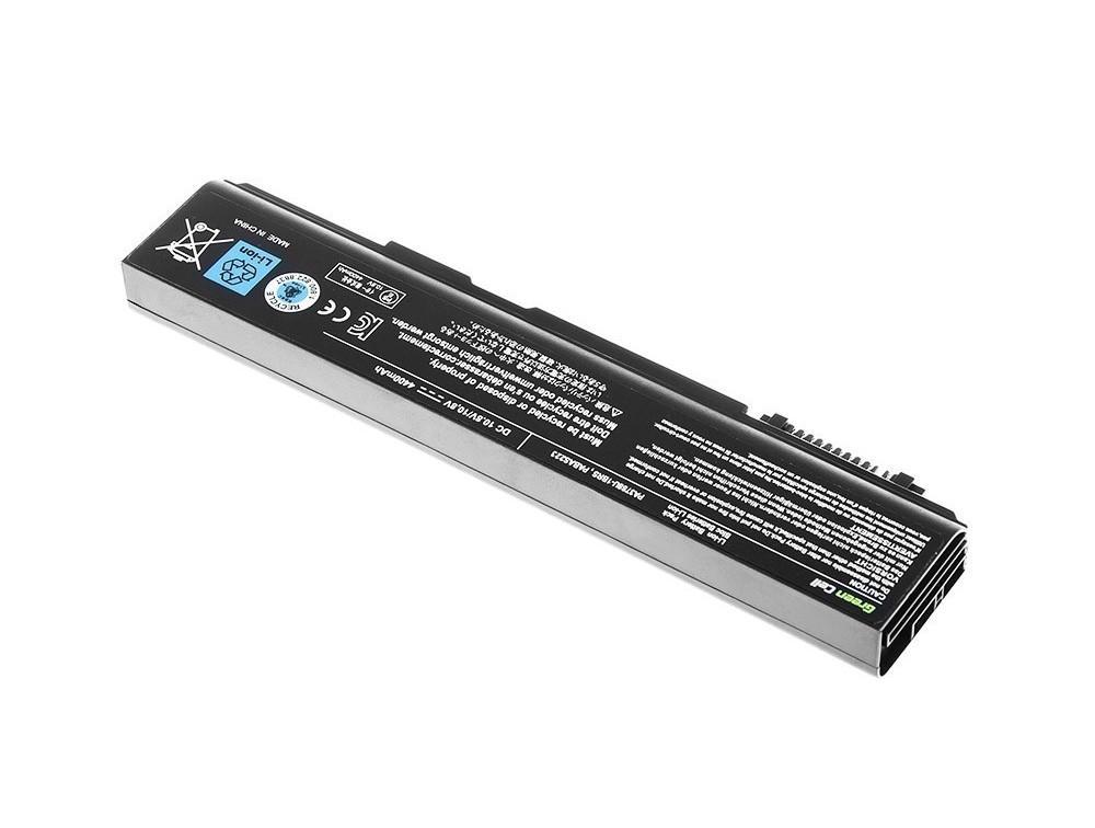Батерия  за лаптоп Toshiba DynaBook Satellite L35 L40 L45 K40 B550 Tecra M11 A11 S11 S500 PA3787 PA3786 10.8V 4400 mAh GREEN CELL
