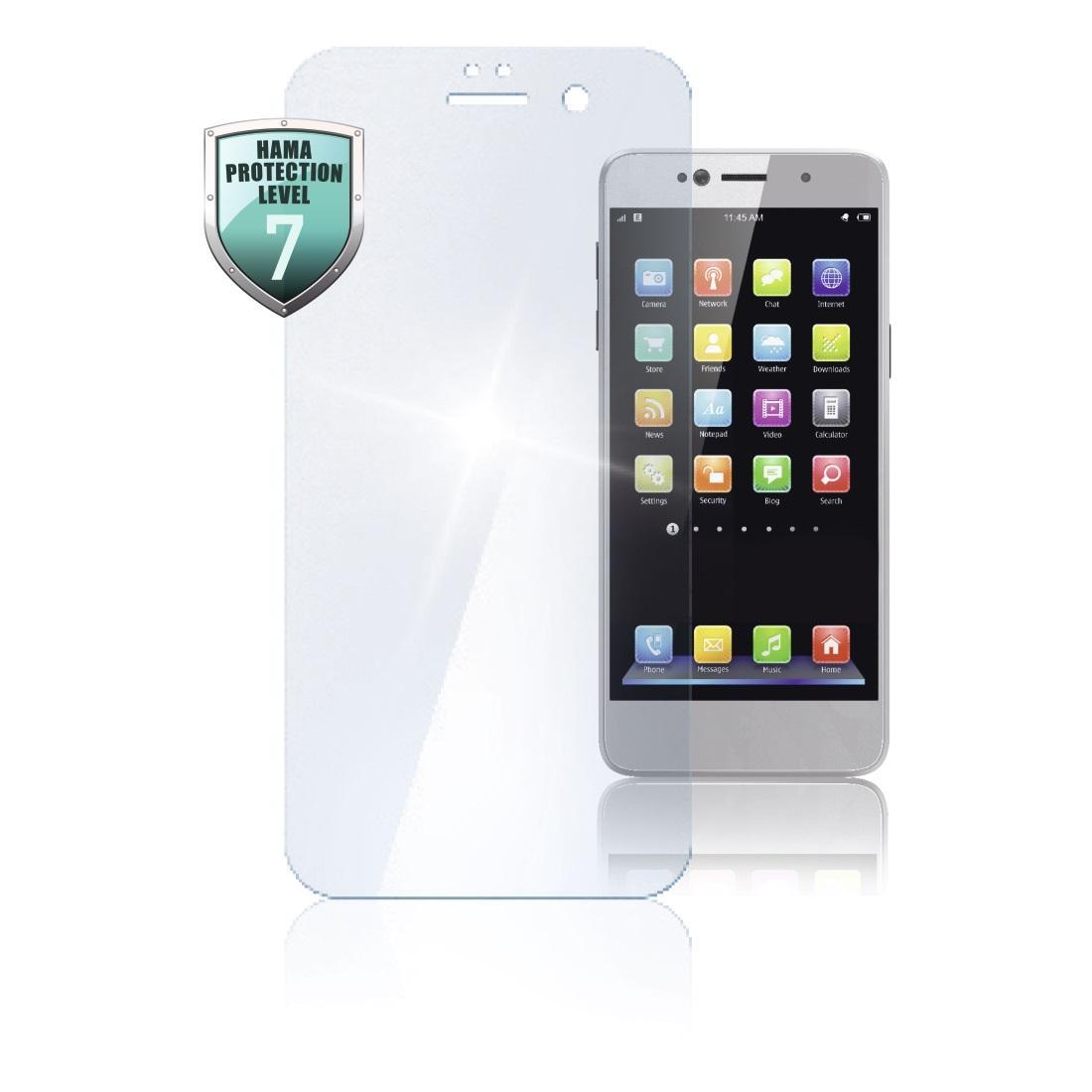 """Стъклен протектор за екран HAMA """"Protective Glass"""", за Huawei P20"""