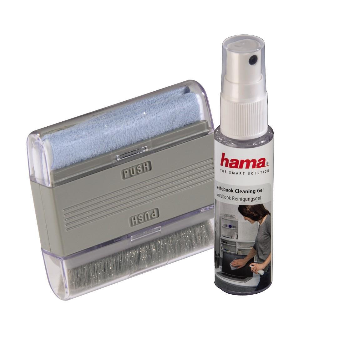 Почиств.комплект за Нотбук HAMA -гел +почистваща микрофибърна кърпичка