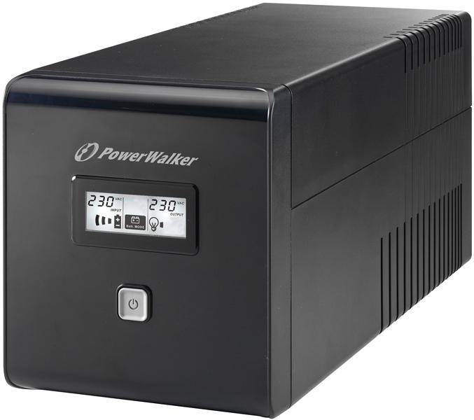 UPS POWERWALKER VI 1000 LCD, 1000VA, Line Interactive