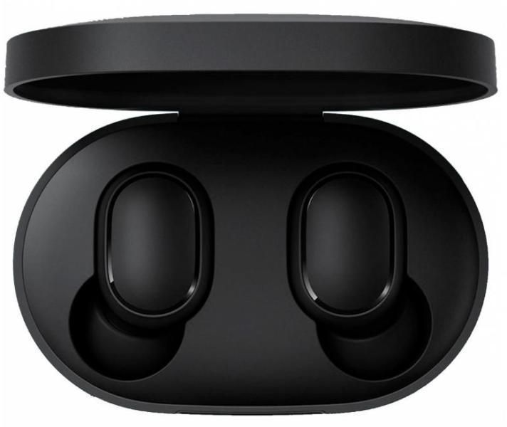 Блутут слушалки-тапи с докинг кутийка Xiaomi Mi Basic True Wireless, Черен