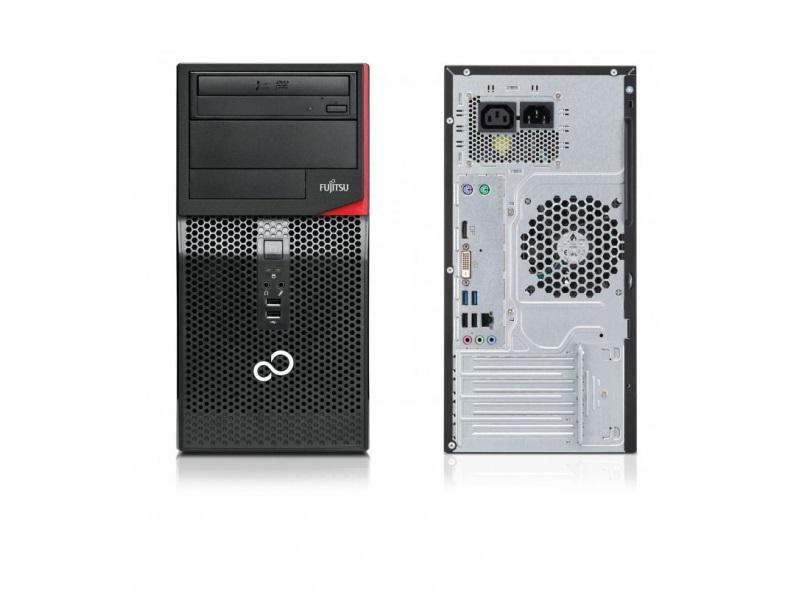 Настолен компютър Fujitsu P556/2 с процесор Intel® Core™ I3 7100 3.90Ghz, , 4GB, 500GB, , Intel® HD Graphics 630,  Черен, Мишка + Клавиатура