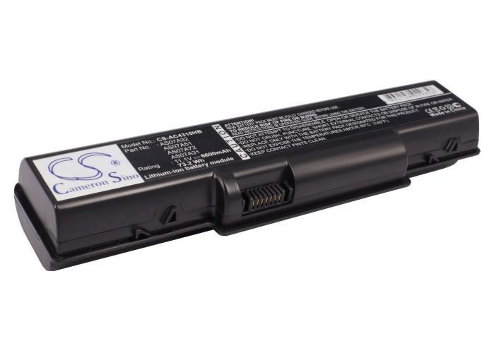Батерия  за лаптоп ACER ASPIRE 4310/4520/4710/4920/4930G/5738zg, 11.1V, 6600mAh, Черен, Cameron sino