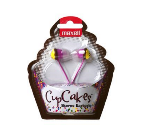 Слушалки  MAXELL color CUP CAKE, In-Ear, Розов