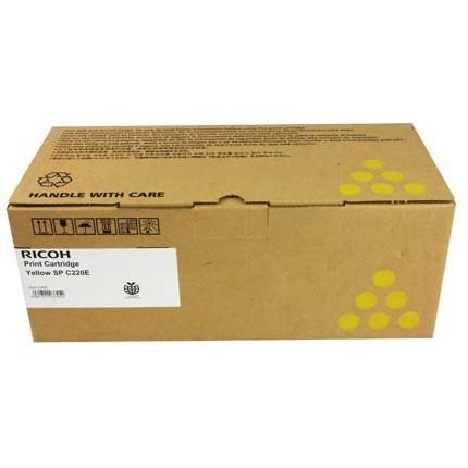 Тонер касета Ricoh SPC220E, 2300 копия C240DN, Yellow