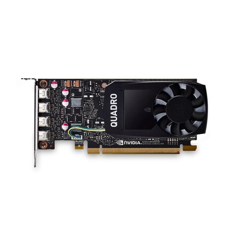 Видео карта PNY NVIDIA Quadro P1000 DVI, 4GB, GDDR5, 128 bit, DVI