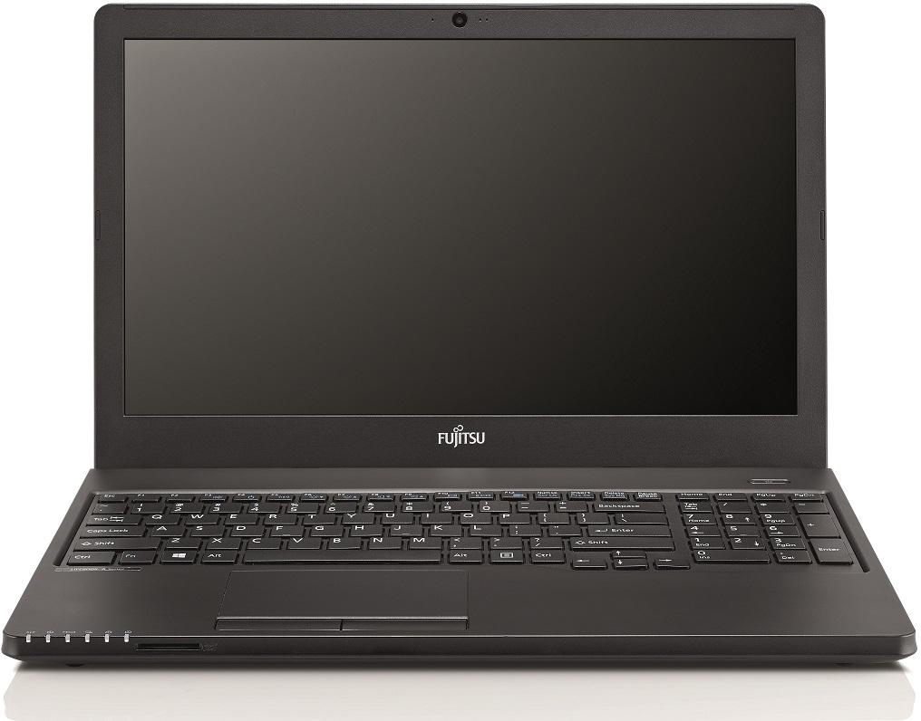 "Лаптоп Fujitsu Lifebook A359, Intel Core i5-8250U, 4Gb DDR4, 256Gb SSD, 15.6""FHD LED Matt, no OS, Черен"