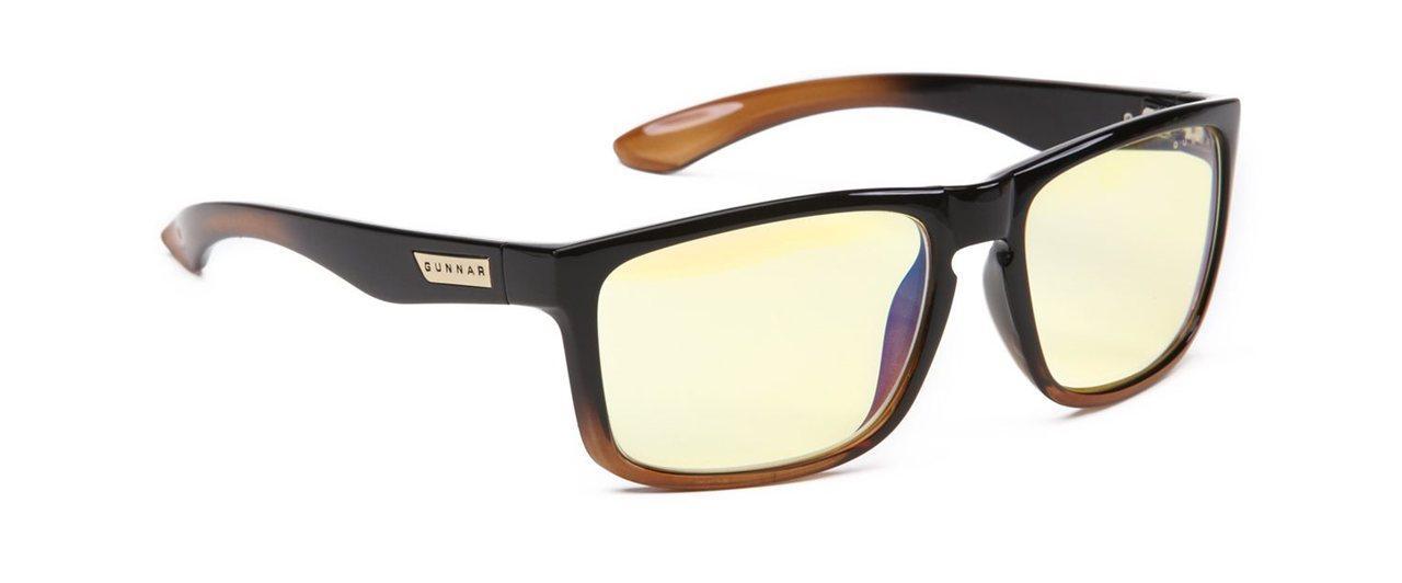 Геймърски очила GUNNAR INTERCEPT Dark Ale, Amber, Черен