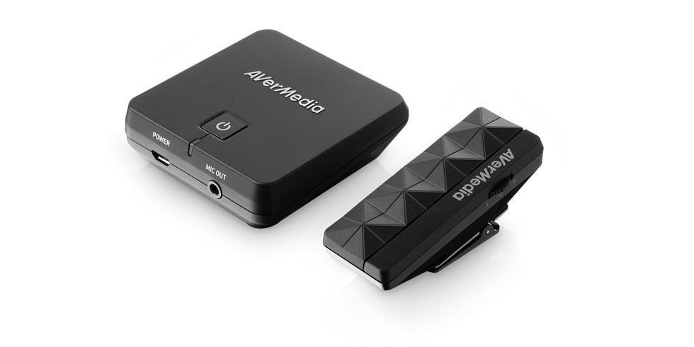 Микрофон безжичен AVerMedia Smart  AW310, 2.4Ghz, с обхват 15 метра