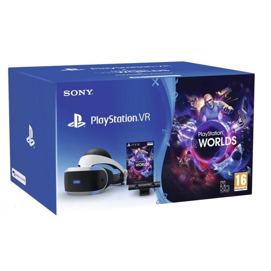 Комплект PlayStation VR Starter Pack, Черен
