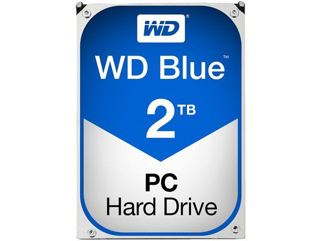 Хард диск WD Blue, 2TB, 5400rpm, 64MB, SATA 3