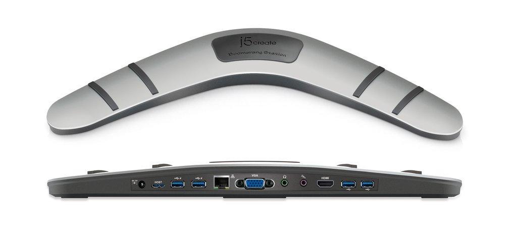 Докинг станция за лаптопи j5create Boomerang Station JUD481, USB3.0