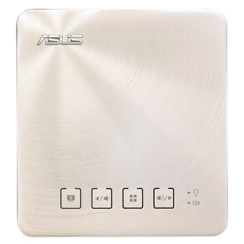 Преносим LED Видеопроектор ASUS S1 Gold, 200; 1 000:1; HDMI, USB, WVGA; 0.342kg; 6 000mAh батерия