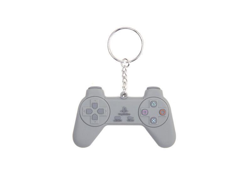 Ключодържател Playstation Controller метал, Bioworld