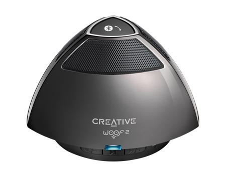 Тонколонка за мобилни устройства Creative WOOF2, сив