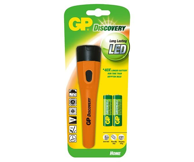 Фенер GP BATTERIES LHE110 LED Discovery Home 0,3W GP