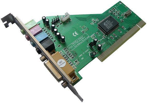 Звукова карта ESTILLO C-Media 8738, PCI, 4