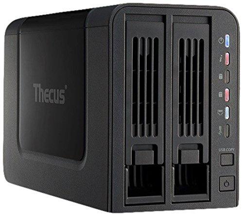 Мрежов сторидж Thecus NAS N2310, за 2 диска, до 8TB, 800Hz, 512MB, Гигабит, USB 3.0, USB 2.0