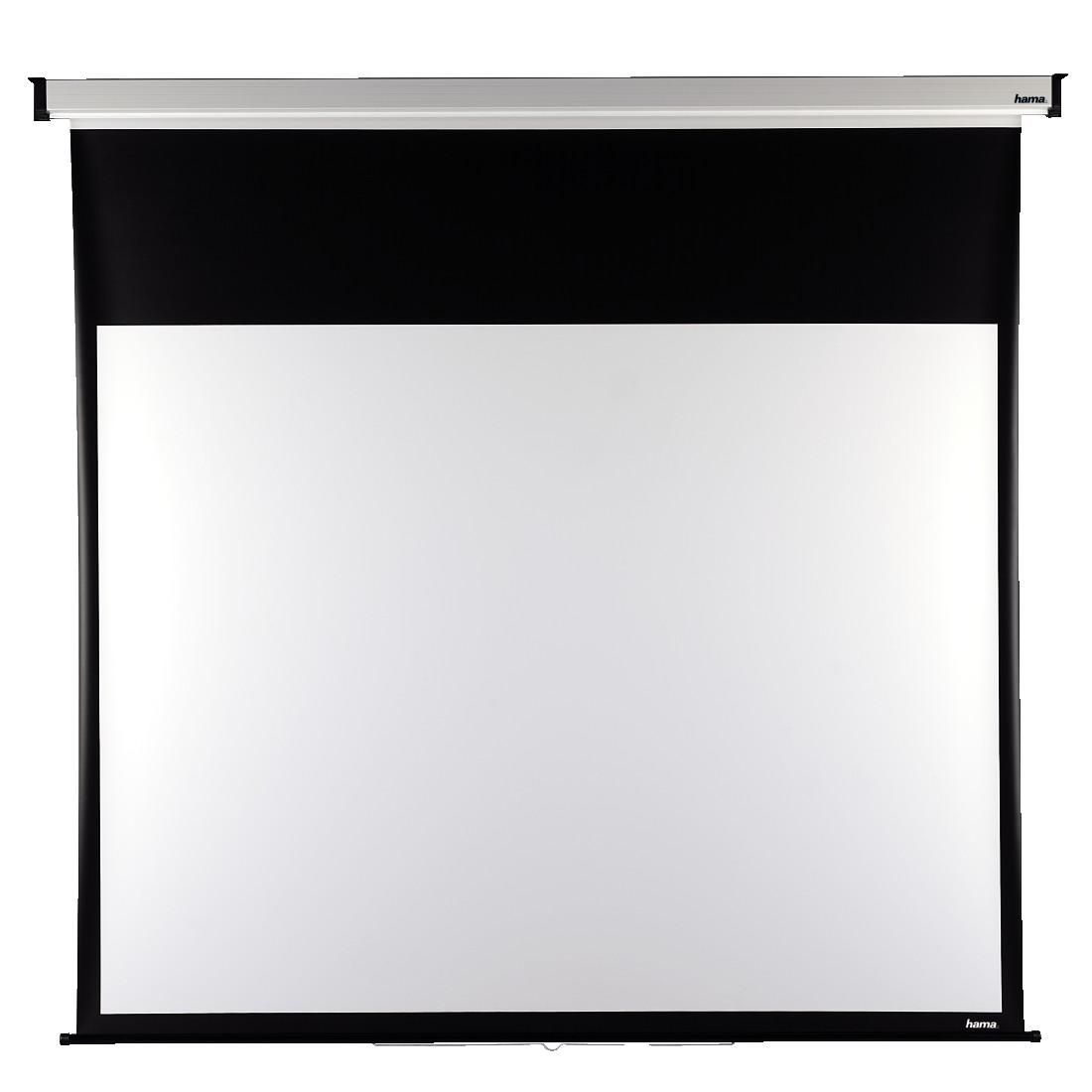 Проекторен екран за стена HAMA 18782, 200 x 175 cm, 4:3