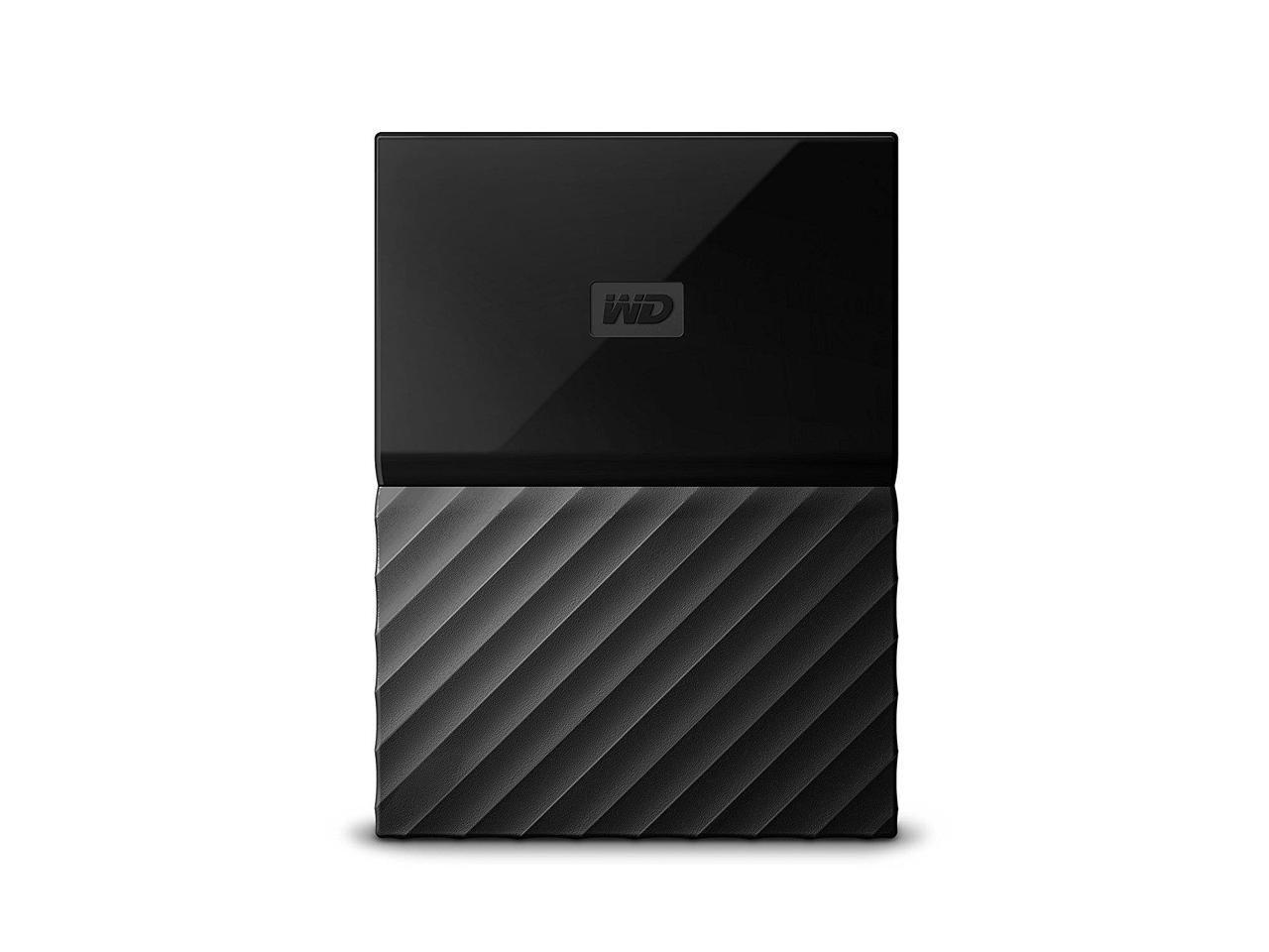 "Външен хард диск Western Digital My Passport USB 3.0 2TB 2.5"" HDD Black"
