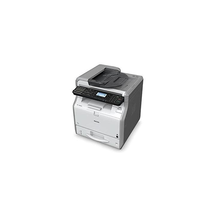 Мултифункционално монохромно лазерно устройство RICOH SP 3600SF, A4, USB 2.0, Ethernet