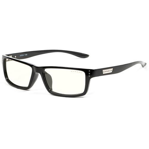Геймърски очила GUNNAR Riot Onyx, Clear, Черен