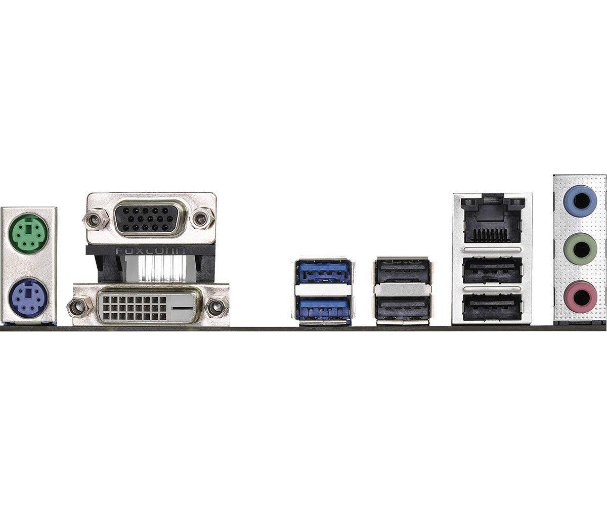 Дънна платка ASROCK H110M-DVS R3.0, Socket 1151, Micro ATX, DDR4