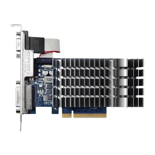 Видео карта ASUS GeForce GT 710, 2GB, GDDR3, 64 bit, D-Sub, DVI-D, HDMI GT710-2GDR3-SL-BRK