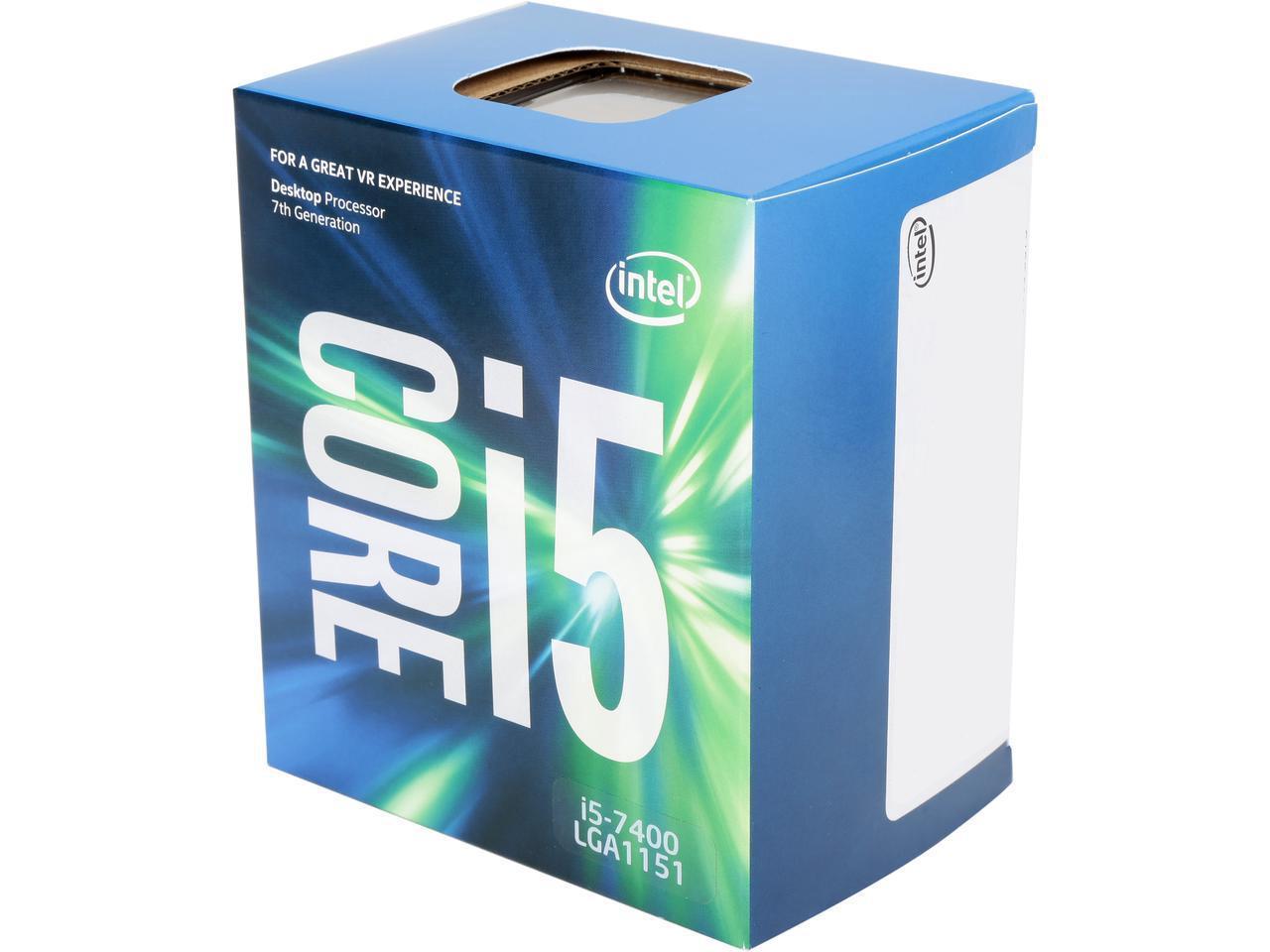 Процесор Intel Kaby Lake Core i5-7400 3.0GHz, 6MB, 65W LGA1151