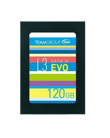 "Solid State Drive (SSD) Team Group L3 EVO, 2.5"", 120GB, SATA3"