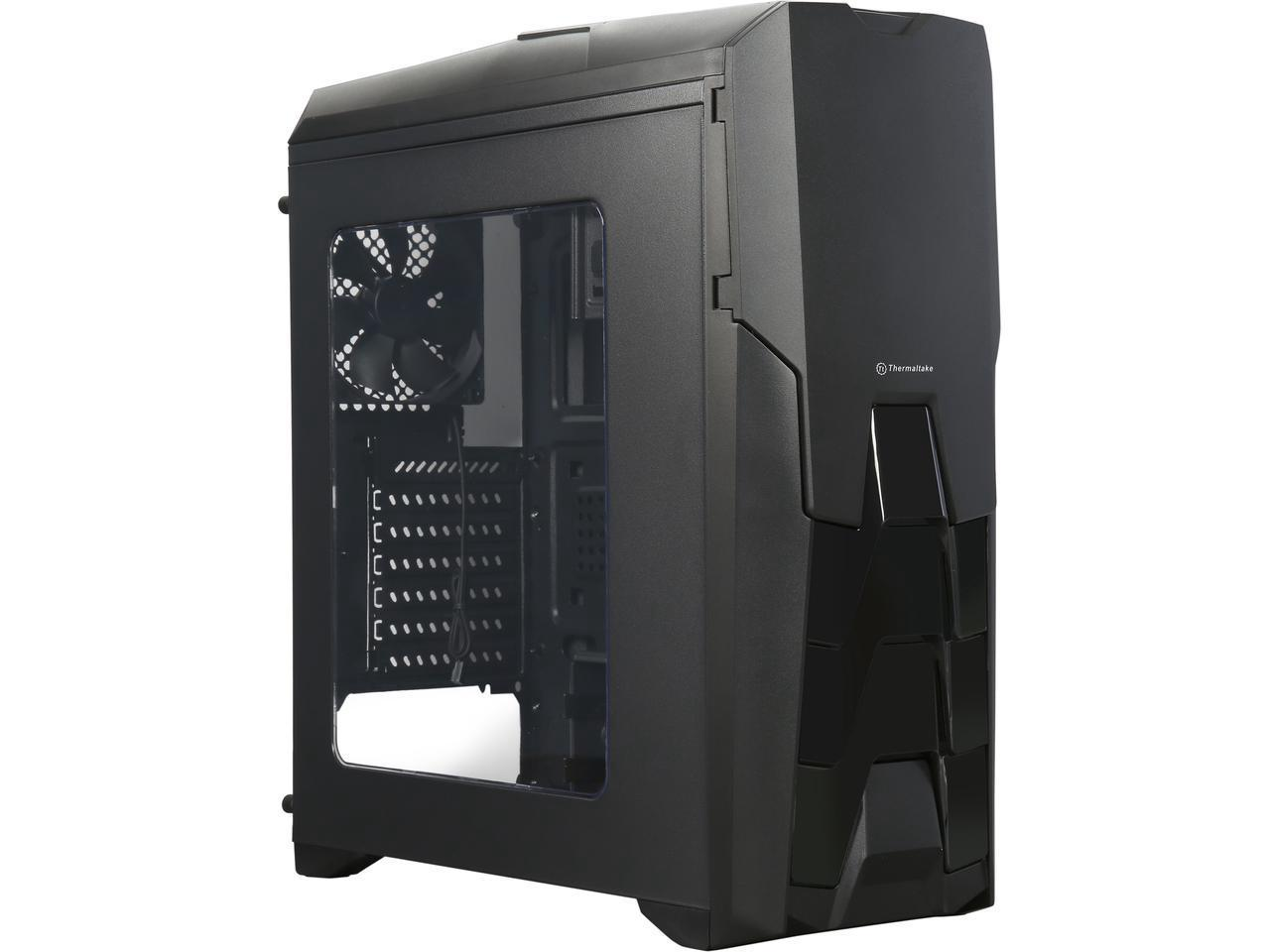 Кутия THERMALTAKE Versa N25 Black Mid Tower