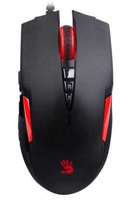 Геймърска мишка Bloody, V2M, Оптична, Жична, USB