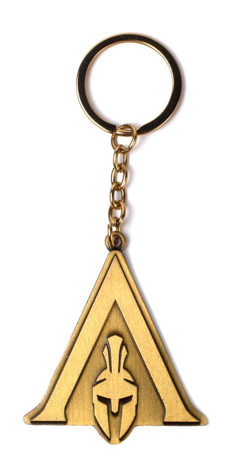 Ключодържател Assassin's Creed Odyssey - Odyssey Logo Metal Keychain, Bioworld