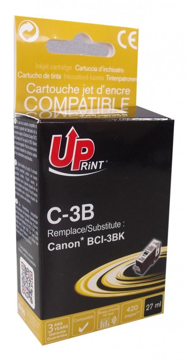 Мастилница UPRINT BCI3/BCI5/BCI6 CANON, Черен