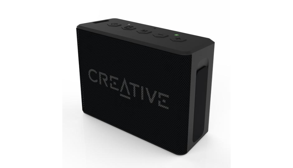 Тонколонка за мобилни устройства Creative MUVO 1C, водоустойчива, Черен
