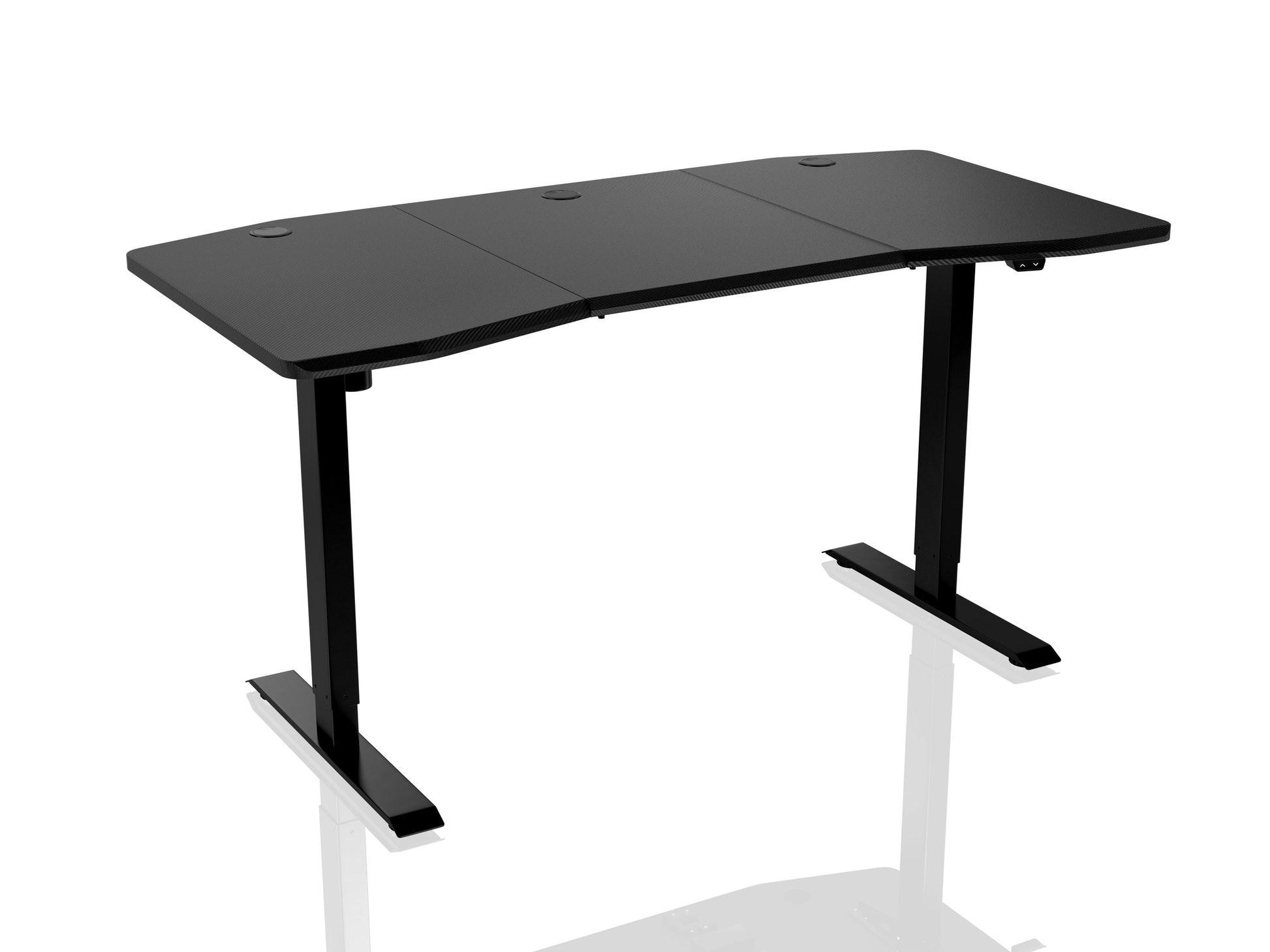 Геймърско бюро Nitro Concepts D16E, Carbon Black, Електрическо управление на височина
